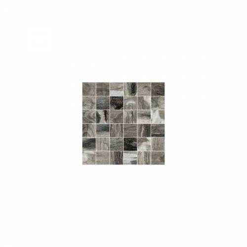 Citrus Collection by Happy Floors Mosaic Tile 2x2 Midnight Natural