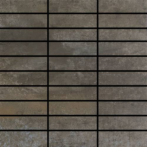 Contempo Collection by Happy Floors Mosaic Tile 1.25x4 Graphite