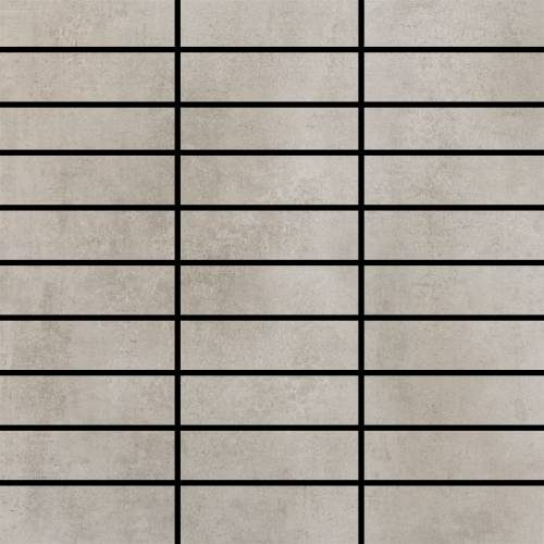 Contempo Collection by Happy Floors Mosaic Tile 1.25x4 Grey