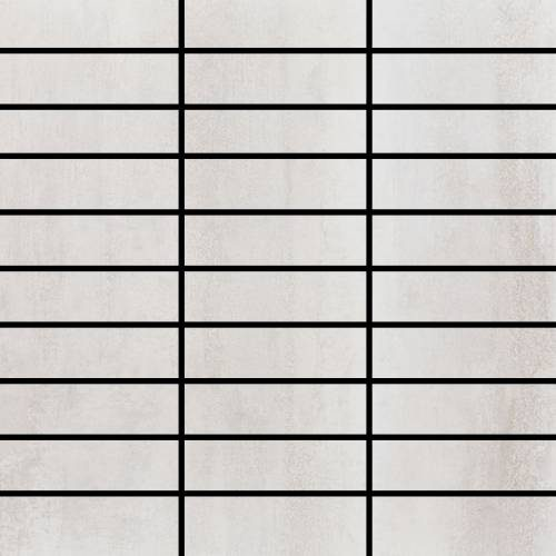 Contempo Collection by Happy Floors Mosaic Tile 1.25x4 White
