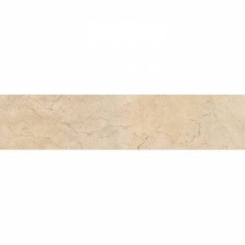 Crema Marfil Collection by Happy Floors Porcelain Tile 3.2x12.6 Bullnose Natural