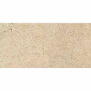 Crema Marfil Collection by Happy Floors Porcelain Tile 12.6x25.2 Semi-Polished
