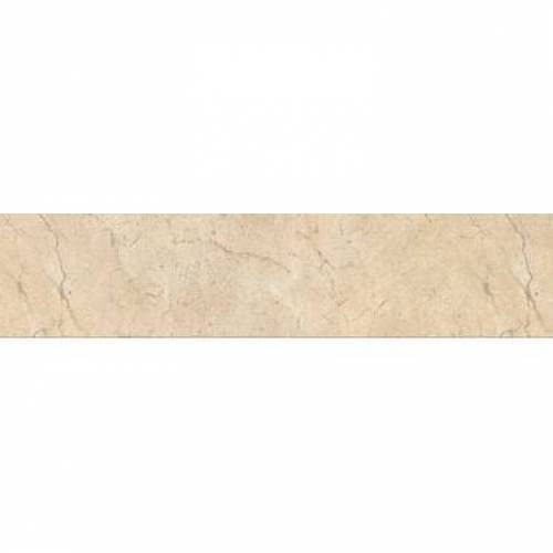 Crema Marfil Collection by Happy Floors Porcelain Tile 3.2x12.6 Bullnose Semi-Polished