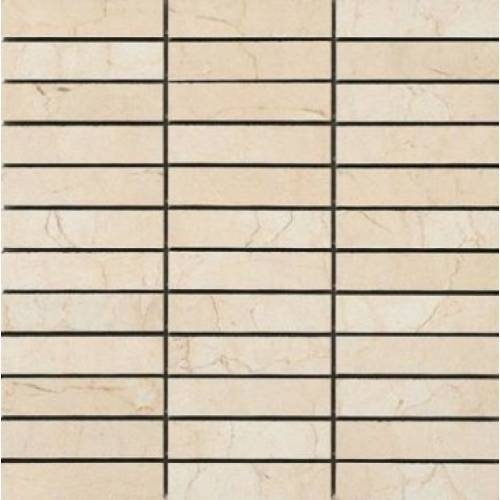 Crema Marfil Collection by Happy Floors Mosaic Tile 1x4 Semi-Polished