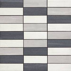 Cremo Collection by Happy Floors Mosaic Tile 1.25x4 Mix