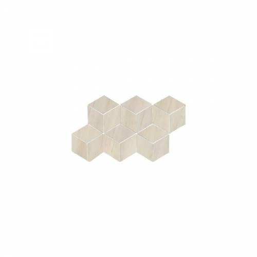 Dolomite Collection by Happy Floors Mosaic Tile 7x12.6 Beige Hexagon Polished