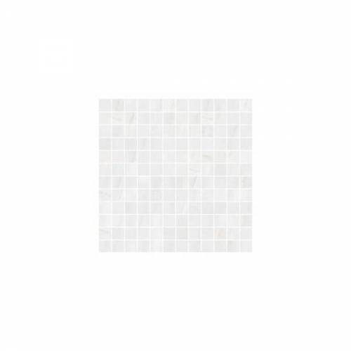 Dolomite Collection by Happy Floors Mosaic Tile 1x1 White Natural