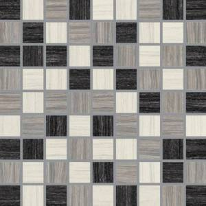 E-Stone Collection by Happy Floors Mosaic Tile 1.5x1.5 Mix