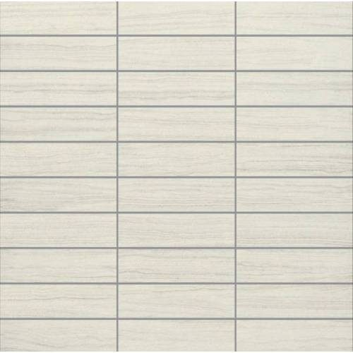 E-Stone Collection by Happy Floors Mosaic Tile 1.25x4 White