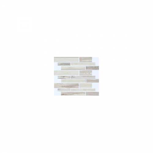Exotic Stone Collection by Happy Floors Mosaic Tile 12x12 Muretto Arctic Natural