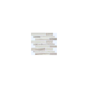 Exotic Stone Collection by Happy Floors Mosaic Tile 12x12 Muretto Arctic Polished