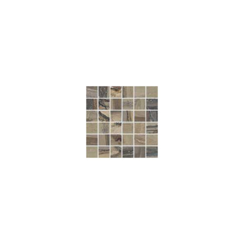 Exotic Stone Collection by Happy Floors Mosaic Tile 2x2 Tundra Natural