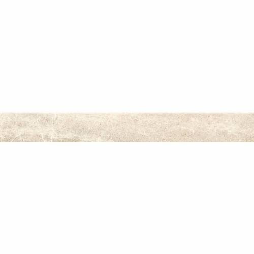 Flint Collection by Happy Floors Porcelain Tile 2.8x24 Bullnose Ivory