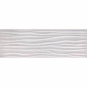 Glaciar Collection by Happy Floors Ceramic Tile 12x36 Wave Glossy
