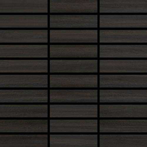 Jaipur Collection by Happy Floors Mosaic Tile 1.25x4 Midnight
