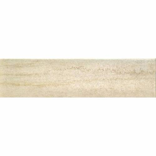 Kaleido Collection by Happy Floors Porcelain Tile 3x12 Bullnose Avorio