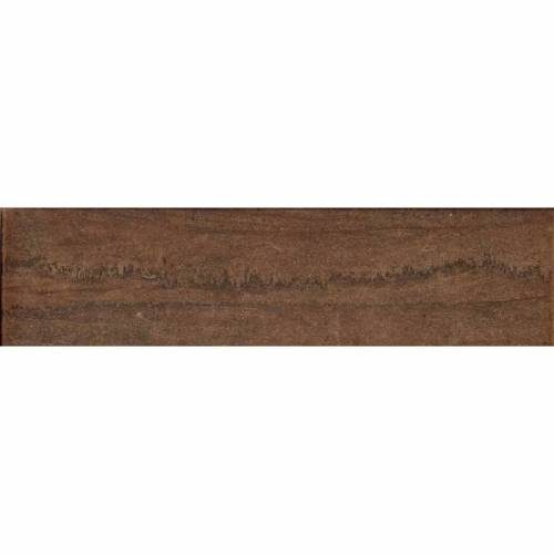 Kaleido Collection by Happy Floors Porcelain Tile 3x12 Bullnose Marrone