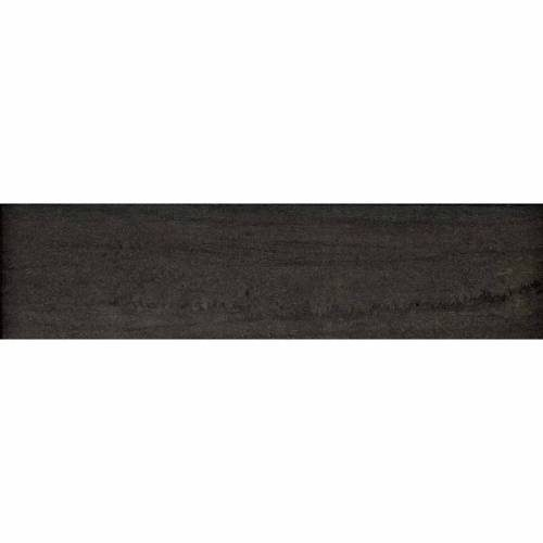 Kaleido Collection by Happy Floors Porcelain Tile 3x12 Bullnose Nero