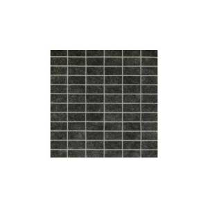 Living Collection by Happy Floors Mosaic Tile 1x2 Black