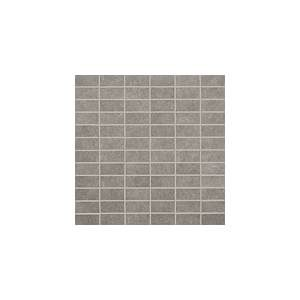 Living Collection by Happy Floors Mosaic Tile 1x2 Grey