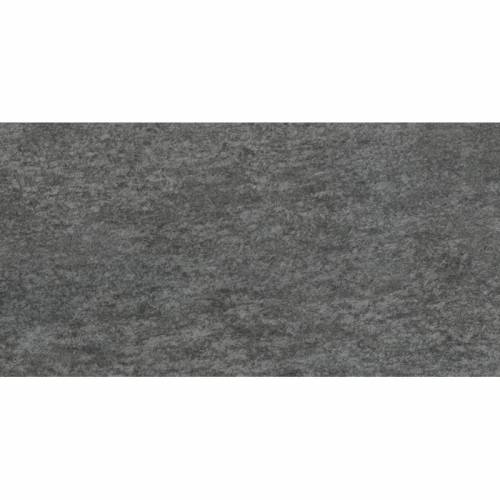 Luserna Collection by Happy Floors Porcelain Tile 12x24 Nero Semi-Polished
