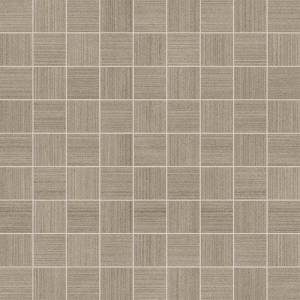 Neostile Collection by Happy Floors Mosaic Tile 1.5x1.5 Ash