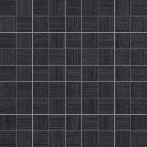 Neostile Collection by Happy Floors Mosaic Tile 1.5x1.5 Grafite