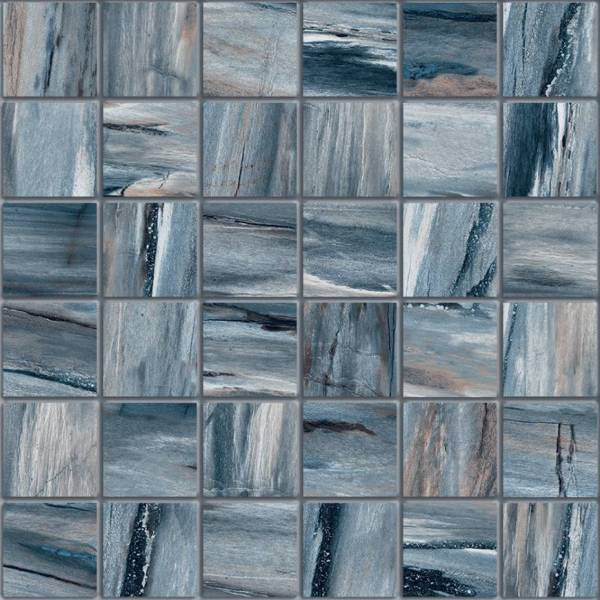 Petra Collection By Happy Floors Mosaic Tile 2x2 River