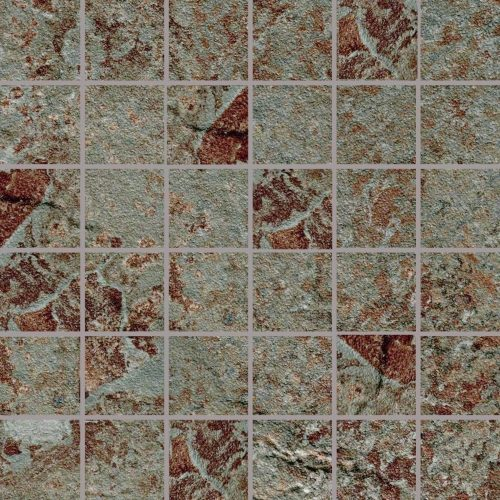 Phoenix Collection by Happy Floors Mosaic Tile 2x2 Canyon