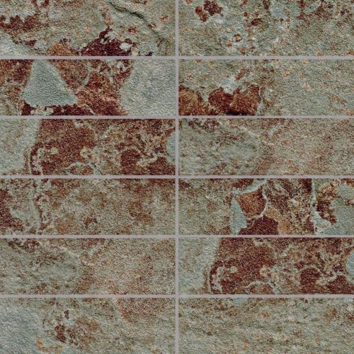 Phoenix Collection by Happy Floors Mosaic Tile 2x6 Canyon