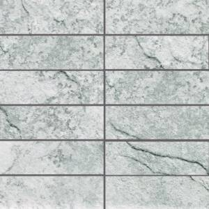 Phoenix Collection by Happy Floors Mosaic Tile 2x6 Moon