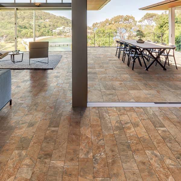 Phoenix Collection By Happy Floors Porcelain Tile 6x36 Sun