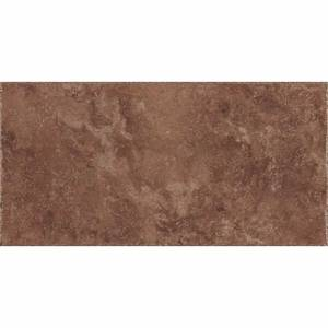 Pietra d'Assisi Collection by Happy Floors Porcelain Tile 8x16 Rosso