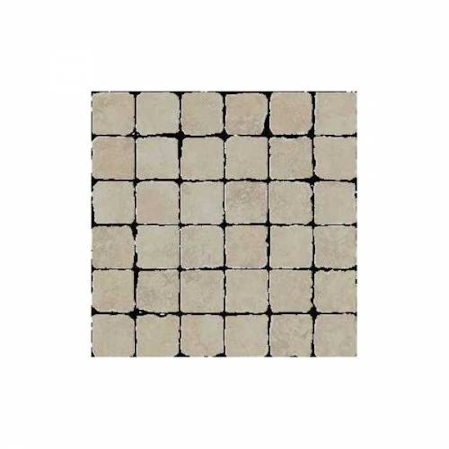 Pietra d'Assisi Collection by Happy Floors Mosaic Tile 2x2 Beige