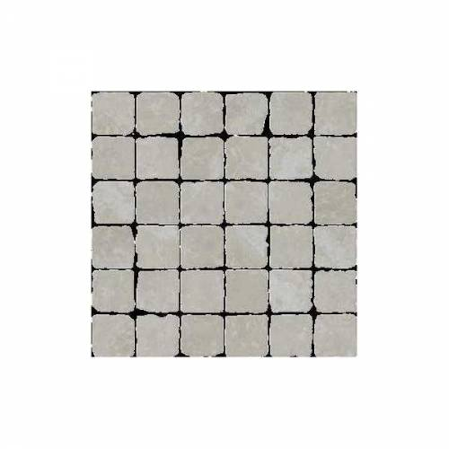 Pietra d'Assisi Collection by Happy Floors Mosaic Tile 2x2 Bianco
