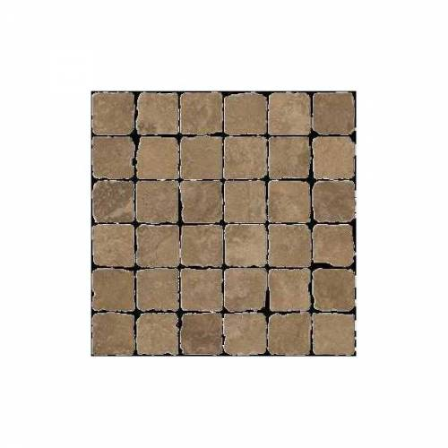 Pietra d'Assisi Collection by Happy Floors Mosaic Tile 2x2 Ocra