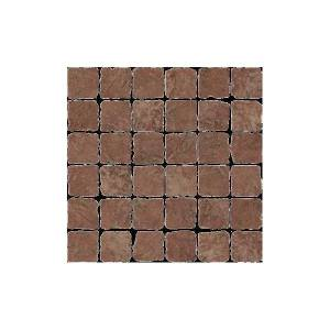 Pietra d'Assisi Collection by Happy Floors Mosaic Tile 2x2 Rosso