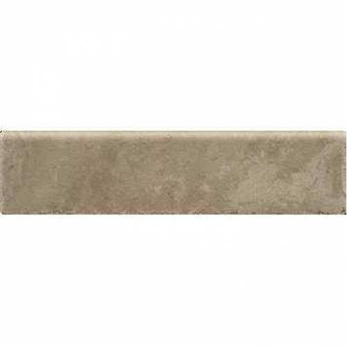Pietra d'Assisi Collection by Happy Floors Porcelain Tile 3x12 Bullnose Noce