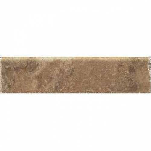 Pietra d'Assisi Collection by Happy Floors Porcelain Tile 3x12 Bullnose Ocra