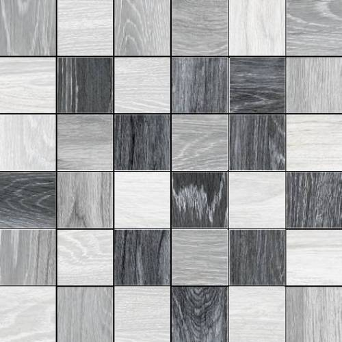 Reserve Collection by Happy Floors Mosaic Tile 2x2 Cold Mix