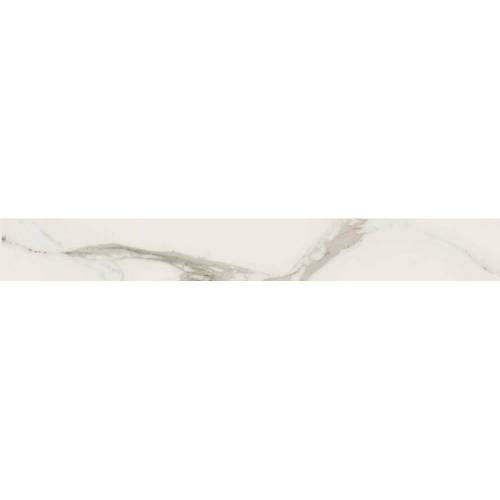 Stratus Collection by Happy Floors Porcelain Tile 3x24 Bullnose Grigio Natural