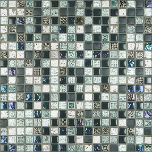 Tangier Collection by Happy Floors Mosaic Tile 0.6x0.6 Oceano