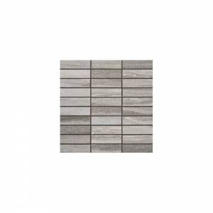 Tivoli Collection by Happy Floors Mosaic Tile 1.25x4 Grigio
