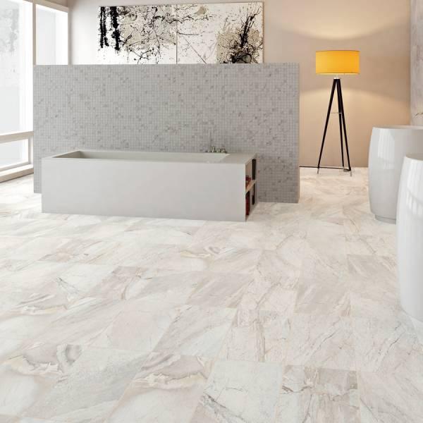 Utah Collection By Happy Floors Mosaic Tile 2x2 Glacier