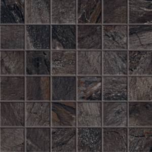 Utah Collection by Happy Floors Mosaic Tile 2x2 Slate