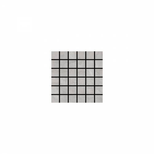 Valencia Collection by Happy Floors Mosaic Tile 2x2 Grey