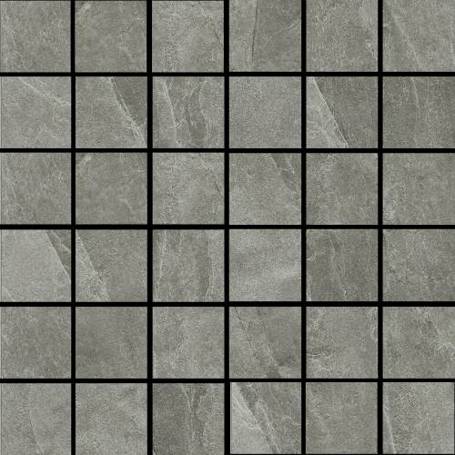 X-Rock Collection by Happy Floors Mosaic Tile 2x2 G