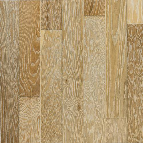 Foothills Collection by Harris Wood Floors Engineered Hardwood 5 in. Vintage White Oak - Tumbled Pebble