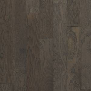 Foothills Collection by Harris Wood Floors Engineered Hardwood 5 in. Vintage Hickory - Silver Moss