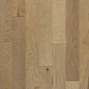 Foothills Collection by Harris Wood Floors Engineered Hardwood 5 in. Vintage Hickory - Weathered Limestone